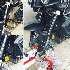 FZ-10 MT-10 Motorcycle Radiator Guard & Oil Guard ... - Amazon.com