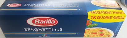 spaghetti n kg barilla spaghetti n 5 1 kg barilla product