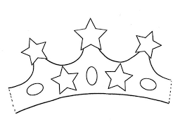 Small Picture Princess Crown with Five Stars of Gold Coloring Page NetArt