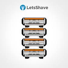 Dorco Pace 4 Blades | Shaving Blade Cartiridges - LetsShave
