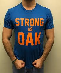 STRONG AS OAK T-SHIRT (<b>KNICKS</b>) — BCCO NYC CUSTOM ...