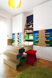 view in gallery children study room design