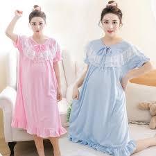 Summer Lace <b>Maternity</b> Pajamas <b>Nursing</b> Pyjamas Set Sleep ...