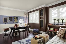 office wall color. wall dawning an trendy color schemes home office rich brown