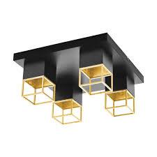 <b>Потолочный светильник Eglo</b> Montebaldo 97731 цвет чёрный в ...