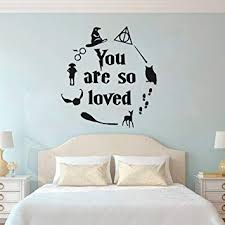 Ewdsqs You are So Loved Sign Quote Wall Decal ... - Amazon.com