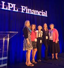 financial strategies group blog giving more kimberly deprospero cfpreg attends lpl financial s women advisors leadership forum
