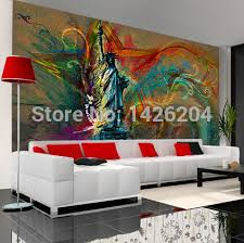 liberty bedroom wall mural: great wall customize any size large mural wallpaper the statue of liberty personality