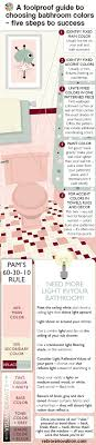 element inspire retro pink bathroom a foolproof guide to choosing bathroom colors five steps to success re