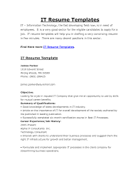 resume it resume samples inspiration it resume samples