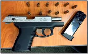 Image result for a picture of a gun and an ice sickle
