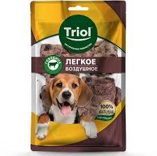 Лакомство <b>Triol легкое говяжье</b> воздушное для собак - купить в ...