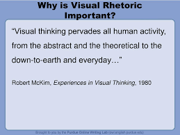 ppt visual rhetoric for student writers powerpoint presentation why is visual rhetoric important