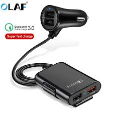 <b>OLAF QC3.0 2</b> USB Car Charger Back-clip Super Fast Charging ...