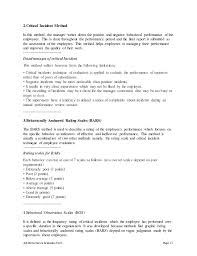 job performance evaluation contract manager job description