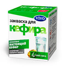 Закваска Vivo Кефир 500 мг пакетики, 4 шт. - купить, цена и ...