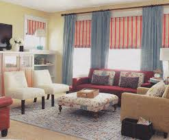 brown couch country living room busnelli