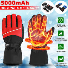 Motorcycle Clothing USB Rechargeable <b>Electric Heated Gloves</b> ...