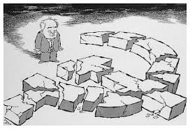 Sad Gorbachev, an American cartoon (via Alphahistory.com)