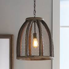 farmhouse style pendant lighting. chicken wire pendant light large farmhouse style lighting p