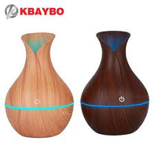 KBAYBO electric humidifier aroma oil diffuser ultrasonic wood ... - Vova