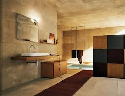 choose best lighting ideas for bathroom with floating vanity and white sink under clear wall mirror best lighting for bathrooms