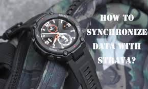 <b>Amazfit T</b>-<b>Rex</b> Manual: How to Synchronize Data with Strava ...