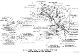 1964 ford truck wiring diagrams fordification info the 61 66 instrument panel wiring