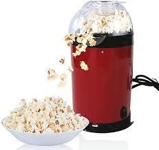 Popcorn Machine Zhutook <b>Automatic</b> Mini Hot Air <b>Popcorn Popper</b> ...
