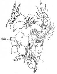Small Picture native american coloring pages printable beautiful Coloring