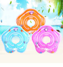 <b>Baby Swimming Accessories</b> Neck Ring Inflatable Wheels ...