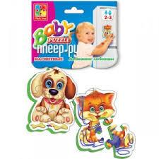 Купить <b>Vladi Toys Мягкие пазлы</b> Домашние любимцы VT3208-02 ...
