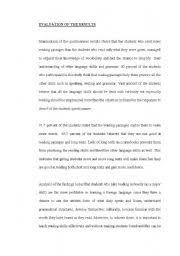 importance of reading essay  wwwgxartorg english worksheets my research on the importance of reading in eltenglish worksheet my