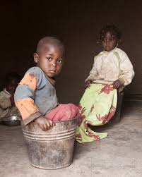 Image result for poor nigeria orphans working