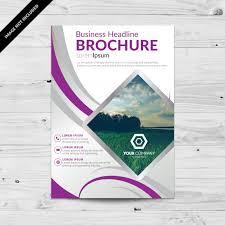 flyer vectors photos and psd files brochure template design