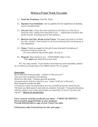 how to write a proper thank you letter thank you letter  how to write a proper thank you letter