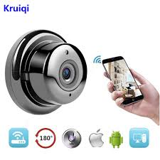 <b>Kruiqi</b> Wifi Light Bulb <b>Security Camera</b> with 1080P <b>960P</b> HD Motion ...