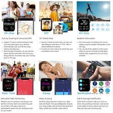 2020 <b>KOSPET GTO Smartwatch</b> Men Fitness Tracker Heart Rate ...