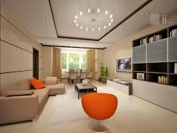 extraordinary living room interior design with amazing lighting ceiling and elegant leather sofa also orange chair amazing lighting