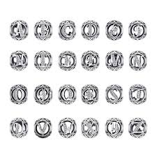 <b>JewelryPalace</b> Vintage Letter A-R Cubic Zirconia Aucthentic <b>925</b> ...