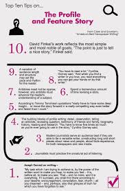 the profile and feature story from roy peter clark and untitled infographic 11