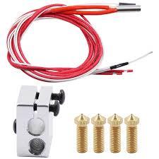 Heated Block + 12V 40W Cartridge Heater + 100K Thermistor Sale ...
