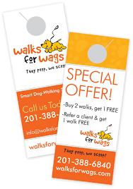 Door Hangers for Dog Walkers: How to Use it As a Marketing Tool ... Door Hangers for Dog Walkers: How to Use it As a Marketing Tool