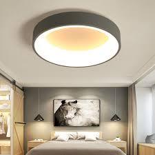 Hot sale white/Gray <b>Minimalism Modern LED</b> ceiling lights for living ...
