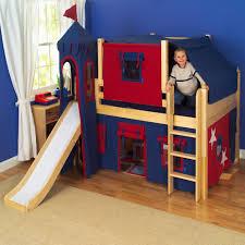 kids bunk beds with slide ideas charming boys bedroom furniture spiderman