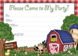 farm party invitations com farm party invitations for inspirational exceptional party invitation ideas create your own design 13