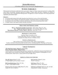images about resume on pinterest   school librarian  resume    example school librarian resume   free sample