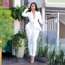 Buy <b>white suit</b> with pant in women and get free shipping on ...