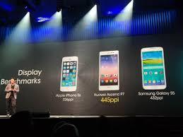 Je v mnoha směrech lepší než iPhone a Galaxy S5, tvrdí Huawei o ...