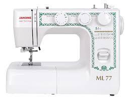 <b>Швейная машина Janome ML 77</b>, белый — купить в интернет ...